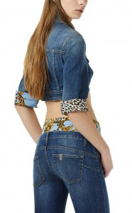 Giubbino Liu-Jo Kitty U19077 Denim Blue Sugar Wash 96286a29a44